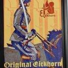 WWII WW2 Nazi German Dagger Sword Knife maker CARL EICKHORN cavalry  Metal sign