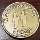 WWII WW2 Nazi German SS Kanitnegeld bar money coin 1939 bronze