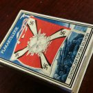WWII Nazi German Luftwaffe Standarte Flag Vintage matchbox