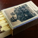 WWII Nazi German Waffen SS Soldiers  Vintage matchbox
