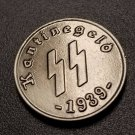 WWII WW2 Nazi German SS Kantinegeld 1939 bronze coin