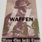 WWII WW2 Nazi German Waffen Battle Propaganda Metal sign