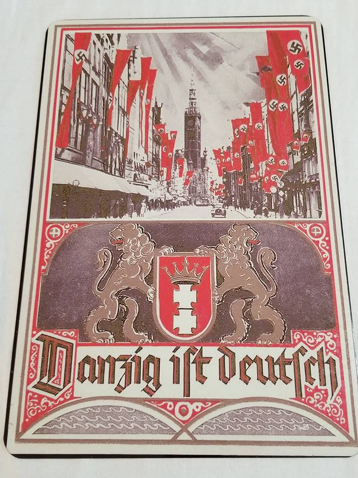 WWII WW2 Nazi German War Battle Propaganda Metal sign