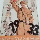 WWII WW2 Nazi German 1933 Soilder Battle Propaganda Metal sign
