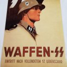 WWII WW2 Nazi German Waffen SS Propaganda Metal sign
