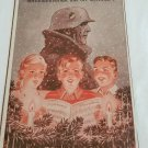 WWII WW2 Nazi German Waffen SS Children Propaganda Metal sign