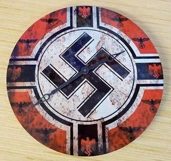 WWII Nazi German Kriegsmarine war clock