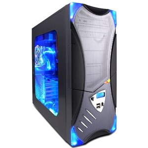 Apevia Black/Silver X-Plorer ATX Mid-Tower Case