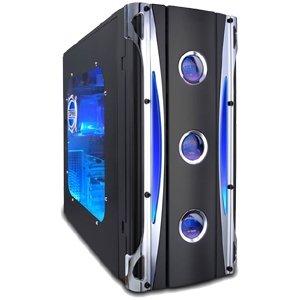 Apevia Black X-Cruiser Case ATX Mid-Tower Case