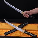 Samurai Short Sword Japanese Tanto Handmade Sharp Blade 1060 High Carbon Steel - Free Shipping
