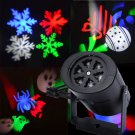 Outdoor Christmas Laser Projector LED Stage Light Party Landscape Garden Lamp