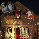 Outdoor LED Lights Holiday Decoration Waterproof Christmas Laser Projector Home Garden Star