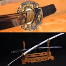Japanese Katana Samurai dragon sword high carbon steel full tang blade - Free Shipping