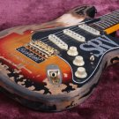 Fender SRV Stevie Ray Vaughan Guitar Replica Limited Edition Relic Masterbuilt Tribute