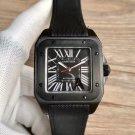 Cartier Santos 100 Carbon Watch Replica