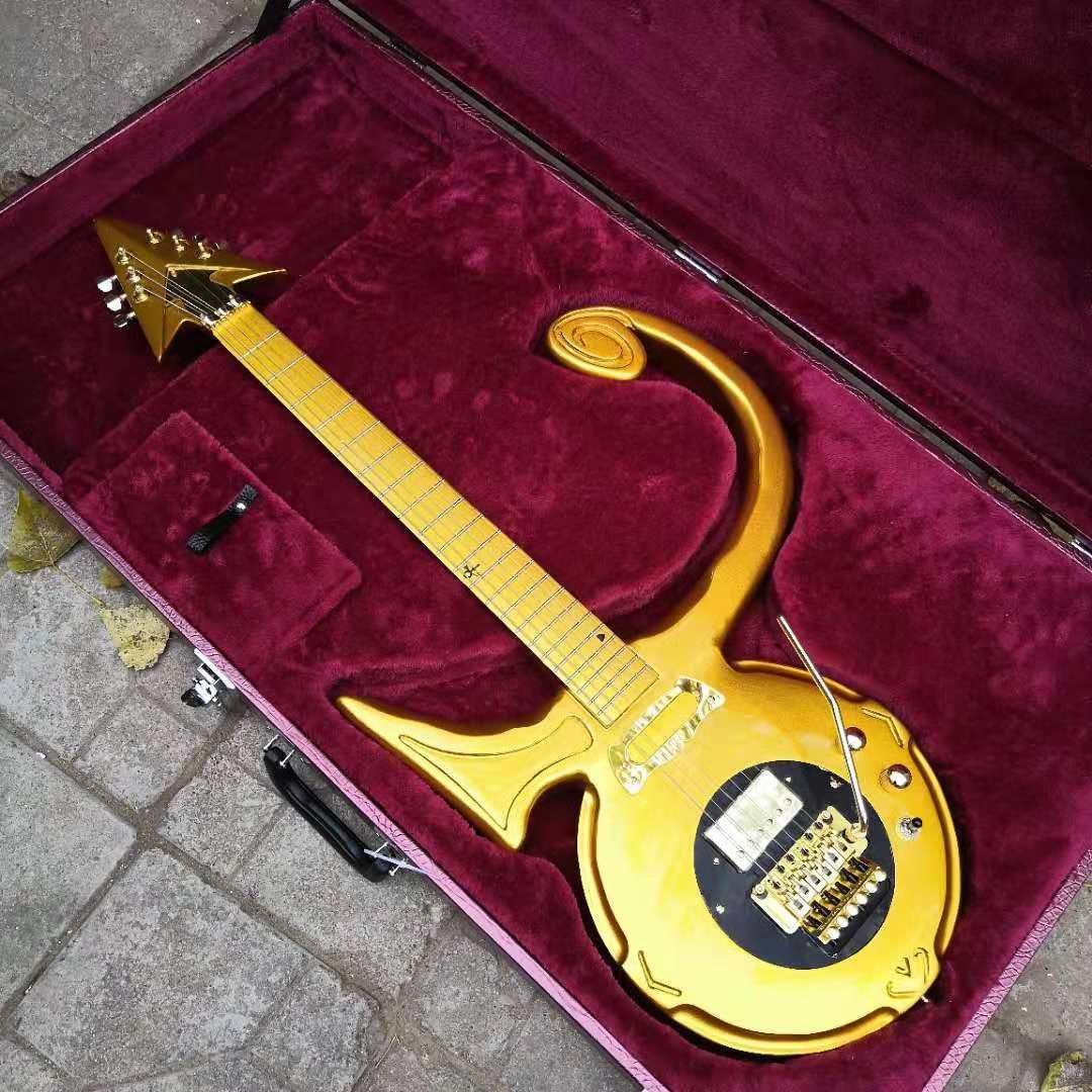 Symbol Legendary Guitar Replica All Gold color
