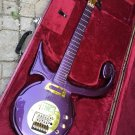 Symbol Guitar Replica Love Signature Purple Gold Color