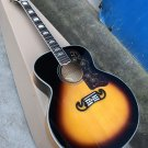J200 Acoustic Guitar Reproduction Sunburst or Natural Blond Finish