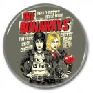 The Runaways Cherry Bomb button (1inch, 25mm, badges,pins)