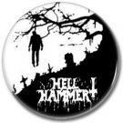 HELLHAMMER band button! (25mm, badges,pins, heavy metal, black metal)
