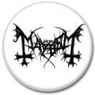 MAYHEM band button! (25mm, badges,pins, heavy metal, black metal)
