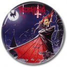 NECROMANTIA band button! (25mm, badges,pins, heavy metal, black metal)