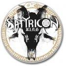 SATYRICON band button! (25mm, badges,pins, heavy metal, black metal)