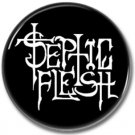 SEPTIC FLESH band button! (25mm, badges,pins, heavy metal, black metal)