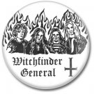 WITCHFINDER GENERAL band button! (1inch, 25mm, badges,pins,heavy metal)