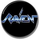 RAVEN band button! (1inch, 25mm, badges,pins,heavy metal)