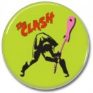 THE CLASH band button! (25mm, punk, badges, buttons)