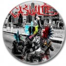 CASUALTIES band button! (25mm, punk, badges, buttons)