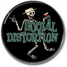 SOCIAL DISTORTION band button! (25mm, punk, badges, buttons)