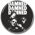 DAMNED band button! (25mm, punk, badges, buttons)