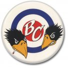 BLACK CROWES band button! (25mm, punk, badges, buttons)