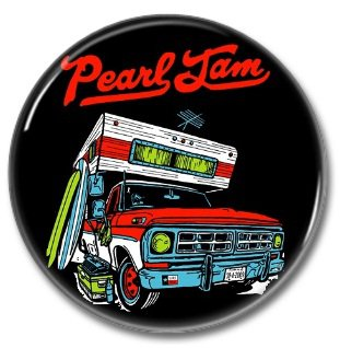 PEARL JAM band button! (25mm, punk, badges, buttons)