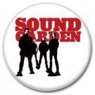 SOUNDGARDEN band button! (25mm, punk, badges, buttons)