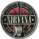 NIRVANA band button! (25mm, punk, badges, buttons)