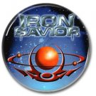 IRON SAVIOR band button! (1inch, 25mm, badges,pins,heavy metal)
