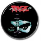 RAGE band button! (1inch, 25mm, badges,pins,heavy metal)