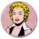 Marilyn Monroe button! (25mm, badges, pins, vintage)
