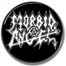 Morbid Angel band button! (25mm, badges, pins, heavy metal, death metal)