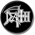 DEATH band button! (25mm, badges, pins, heavy metal, death metal)
