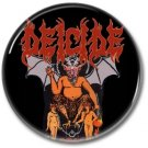 DEICIDE band button! (25mm, badges, pins, heavy metal, death metal)
