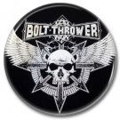 BOLT THROWER band button! (25mm, badges, pins, heavy metal, death metal)