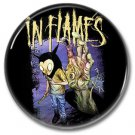 IN FLAMES band button! (25mm, badges, pins, heavy metal, death metal)