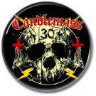 CANDLEMASS band button! (25mm, badges, pins, heavy metal, doom metal)