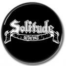 SOLITUDE AETURNUS band button! (25mm, badges, pins, heavy metal, doom metal)