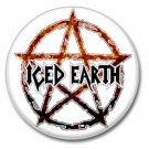 ICED EARTH band button! (1inch, 25mm, badges,pins, heavymetal)