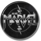 MARVEL button! (25mm, badges, pins, sleaze, hair metal, heavy metal)